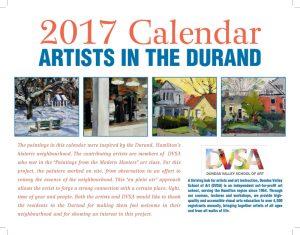 2017 Durand Calendar