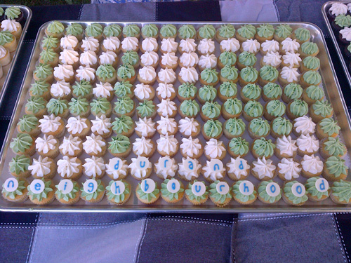 40th Anniversary Celebrations cupcakes