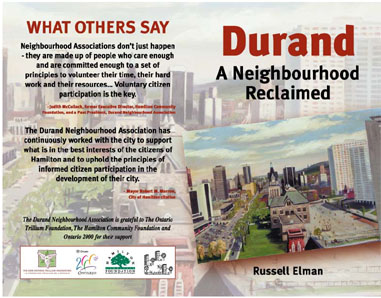 Photo of the Durand - A Neighbourhood Reclaimed book cover