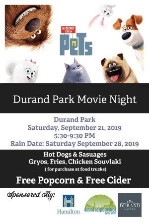 Durand Movie Night 2019