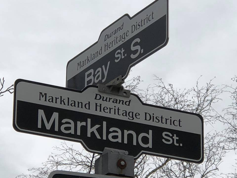 Heritage and Streets Sign