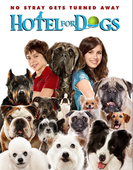 Hotel For Dogs Movie Cover Image