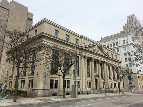 Old Bank of Montreal building