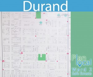durand map for plan local